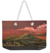 Red Rhine Weekender Tote Bag