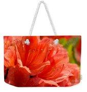 Red Rhodo Weekender Tote Bag