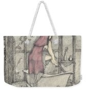 Red Riding Hood-one Month Later Weekender Tote Bag