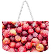 Red Ripe Plums Weekender Tote Bag