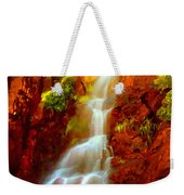 Red River Falls  Weekender Tote Bag