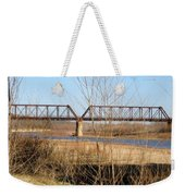 Red River Train Trussell Weekender Tote Bag