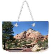 Red Road Zion Park Weekender Tote Bag