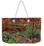 Red Rock Butte And Juniper Snag Paria Canyon Utah Weekender Tote Bag