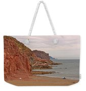 Red Rock By Sea Of Cortez From San Carlos-sonora Weekender Tote Bag