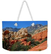 Red Rock Canyon 5 Weekender Tote Bag