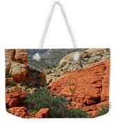 Red Rock Canyon 6 Weekender Tote Bag