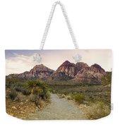 Red Rock Canyon Trailhead Weekender Tote Bag