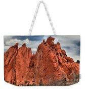 Red Rock Cluster Weekender Tote Bag