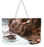 Red Rock Coast Maine Weekender Tote Bag