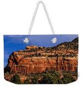 Red Rock Crag Weekender Tote Bag