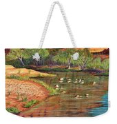 Red Rock Crossing-sedona Weekender Tote Bag by Marilyn Smith