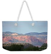 Red Rock Evening Weekender Tote Bag