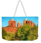 Red Rock Reflection Weekender Tote Bag