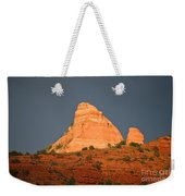 Red Rock Rising Weekender Tote Bag