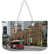 Red Rocket 36 Weekender Tote Bag