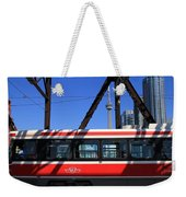 Red Rocket 8 Weekender Tote Bag