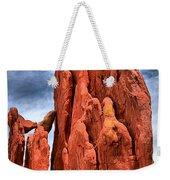 Red Rocks Against Blue Skies Weekender Tote Bag