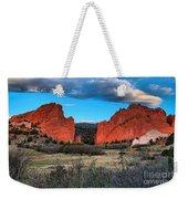 Red Rocks At Sunrise Weekender Tote Bag