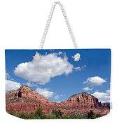 Red Rocks In Sedona Arizona Weekender Tote Bag