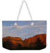 Red Rocks In Sedona Weekender Tote Bag