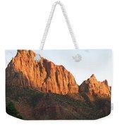Red Rocks Of Zion Park Weekender Tote Bag