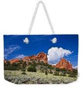 Red Rocks In Colorado Weekender Tote Bag