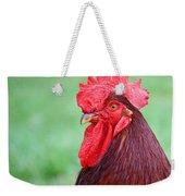 Red Rooster Portrait Weekender Tote Bag