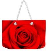 Red Rose 1 Weekender Tote Bag