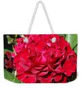 Red Rose Art Prints Big Roses Floral Weekender Tote Bag
