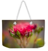 Red Rose Flourish Weekender Tote Bag