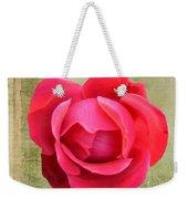 Red Rose Of Love Weekender Tote Bag