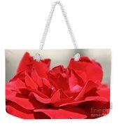 Red Rose Red Rose Weekender Tote Bag