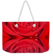Red Rose Reflects Weekender Tote Bag