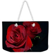 Red Roses For A Blue Lady Weekender Tote Bag