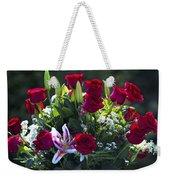Red Roses Say I Love You Weekender Tote Bag