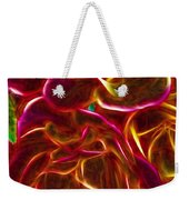 Red Roses With Soft Glow Weekender Tote Bag