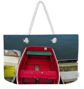 Red Rowboat Weekender Tote Bag