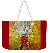 Red Rubber Boots Weekender Tote Bag