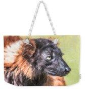 Red-ruffed Lemur Weekender Tote Bag