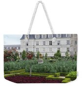 Red Salad And Cabbage Garden - Chateau Villandry Weekender Tote Bag
