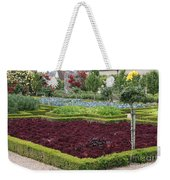 Red Salad And Roses - Chateau Villandry Garden Weekender Tote Bag