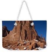 Red Sandstone Arches National Park Utah Weekender Tote Bag