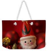 Red Santa Weekender Tote Bag