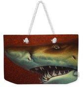 Red Sea Shark Weekender Tote Bag by James W Johnson