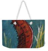 Red Seahorse - Sold Weekender Tote Bag