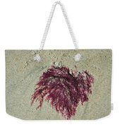 Red Seaweed Weekender Tote Bag