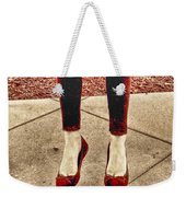 Red Shoes Weekender Tote Bag