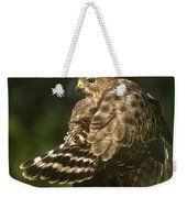 Red-shouldered Hawk Wild Texas Weekender Tote Bag