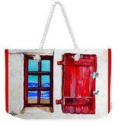 Red Shutter Ocean Weekender Tote Bag